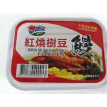 紅燒樹豆生鰻魚罐頭-整箱